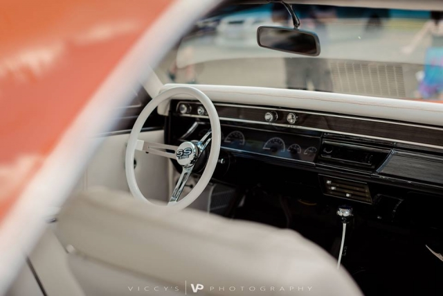 Mike Osborne's 1967 Chevelle Interior