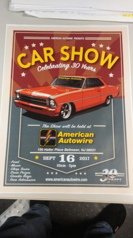 Scott & Brian Hughes 1967 Nova On Show Banner