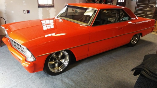 Scott & Brian Hughes 1967 Nova Completed Restoration