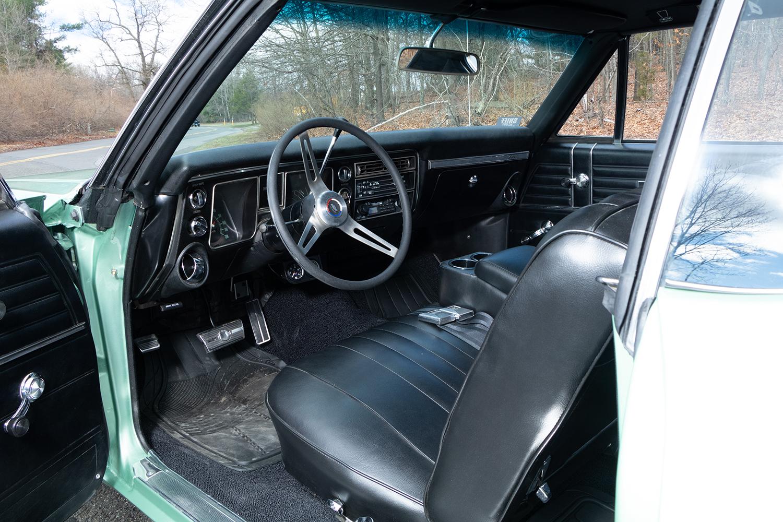 Original 1968 Chevelle Malibu - Interior