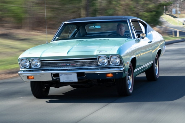Original 1968 Chevelle Malibu rolling shot