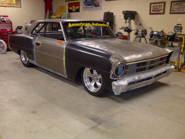 Scott & Brian Hughes 1967 Nova Restoration Process