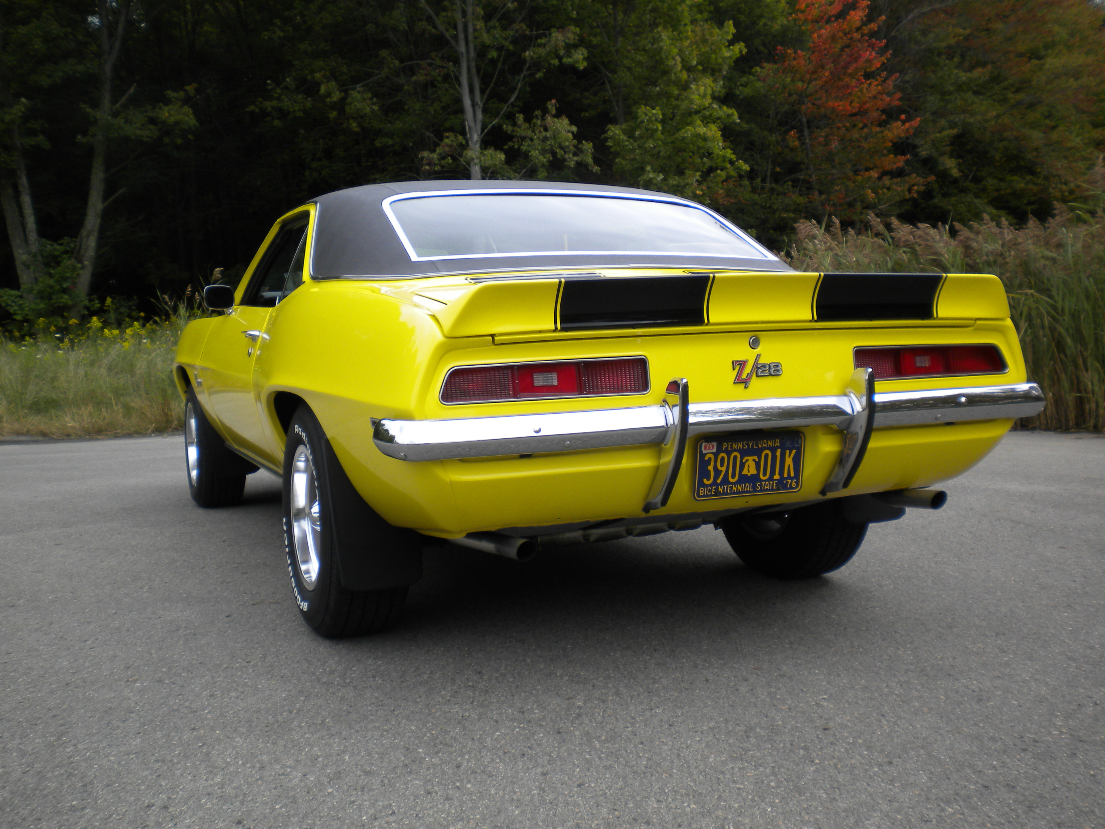 1969 Camaro Rear End