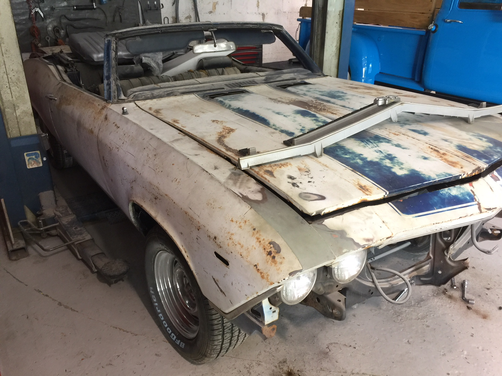 1969 Chevelle before restoration