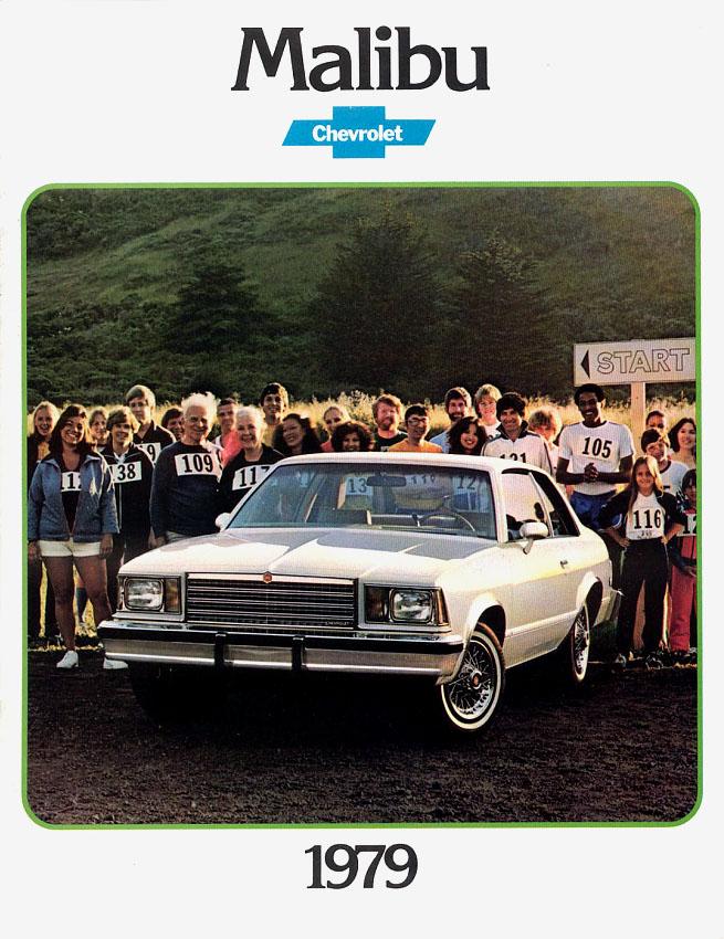 1979 Malibu OEM Brochure Cover