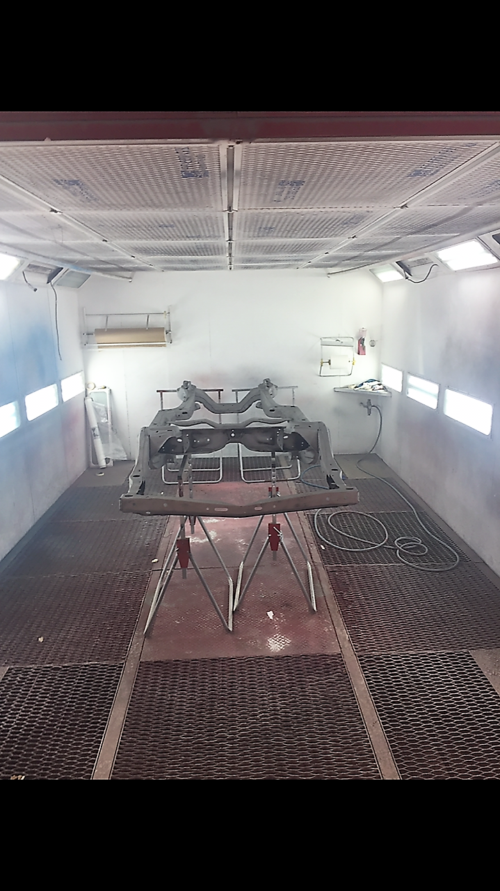 1969 Chevelle painting frame
