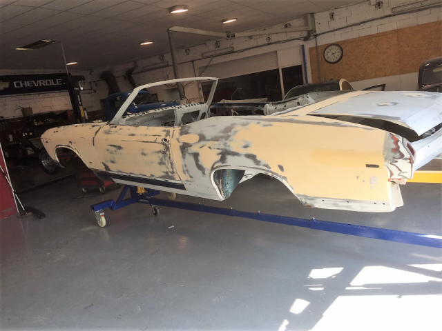 1969 Chevelle body work