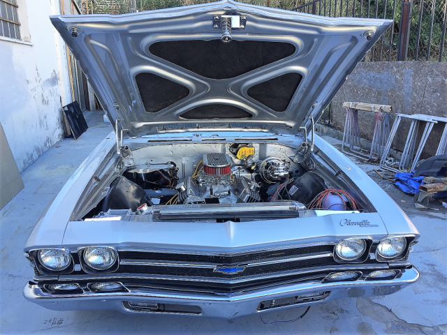 1969 Chevelle in final assembly
