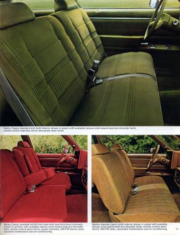 1979 Malibu OEM Brochure Page 5