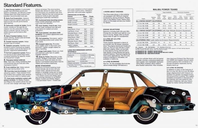 1979 Malibu OEM Brochure Page 6