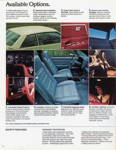 1979 Malibu OEM Brochure Page 7