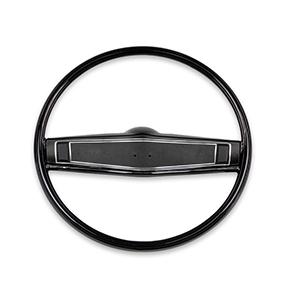 1969-1970 Chevelle 1969-1970 El Camino Standard Steering Wheel Kit Black Fine Grain