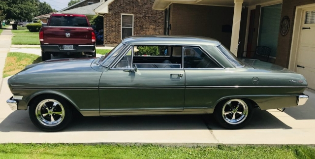 1963 Chevy Nova in Sunlit Green