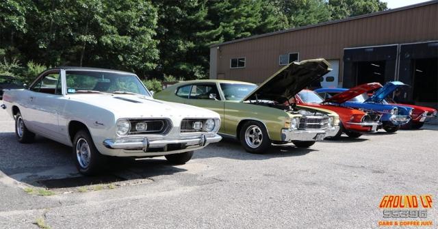 Cars & Coffee Line-up