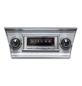 1966 chevelle 1967 Chevelle Custom AutoSound USA-740 AM/FM 300 Watt Stereo, Bluetooth Built-In