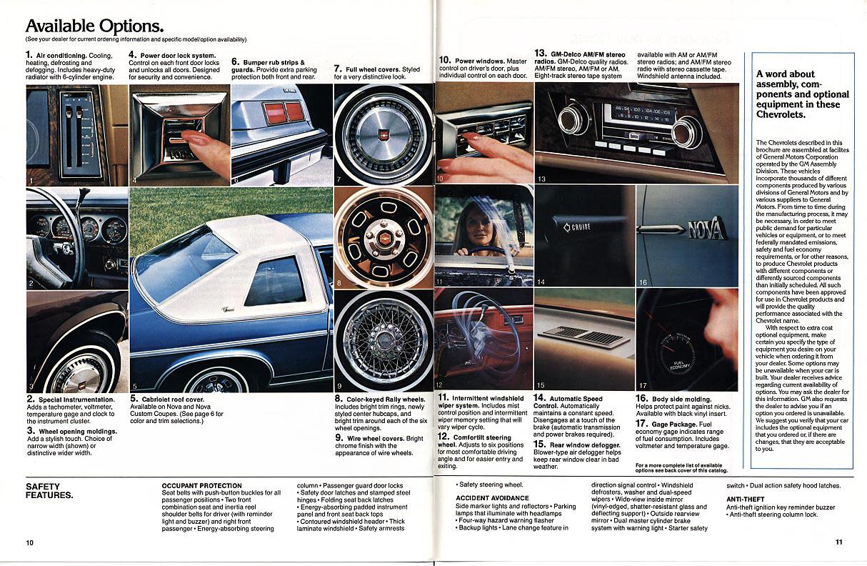 1979 Nova OEM Brochures