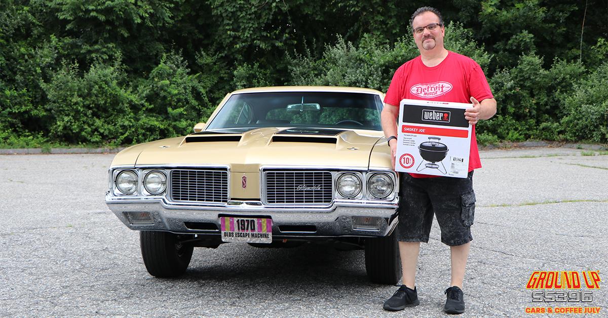 Cars & Coffee Raffle Winner #1