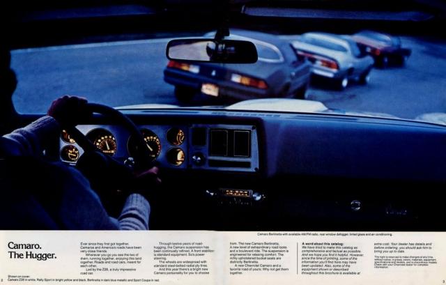 1979 Camaro OEM Brochure - Page 2 & 3