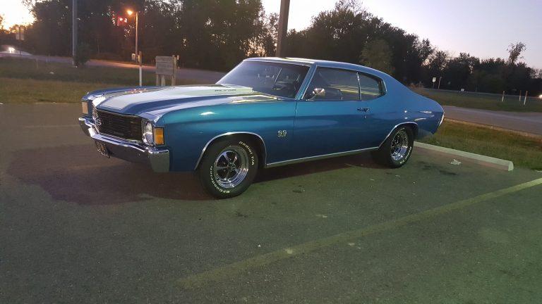dave r's 1972 chevelle