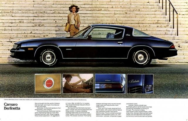 1979 Camaro OEM Brochure - Pages 6 & 7