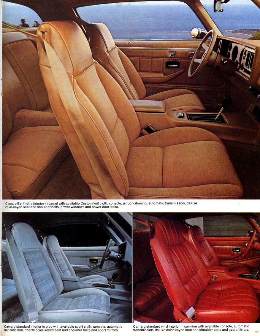 1979 Camaro OEM Brochure - Page 11