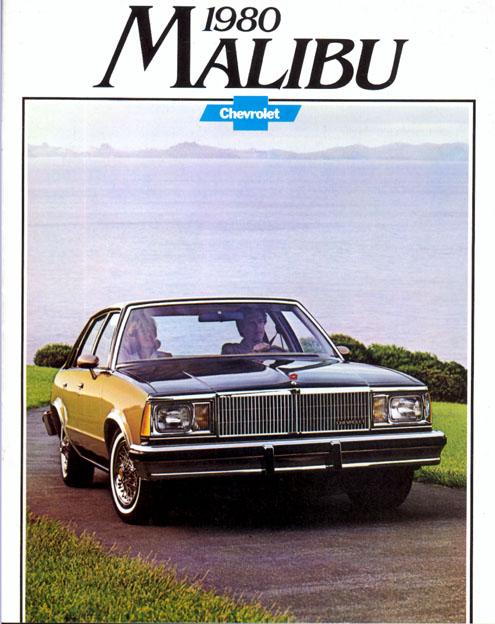 1980 Chevrolet Malibu OEM Brochure