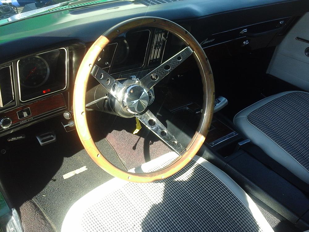 1969 Camaro Interior