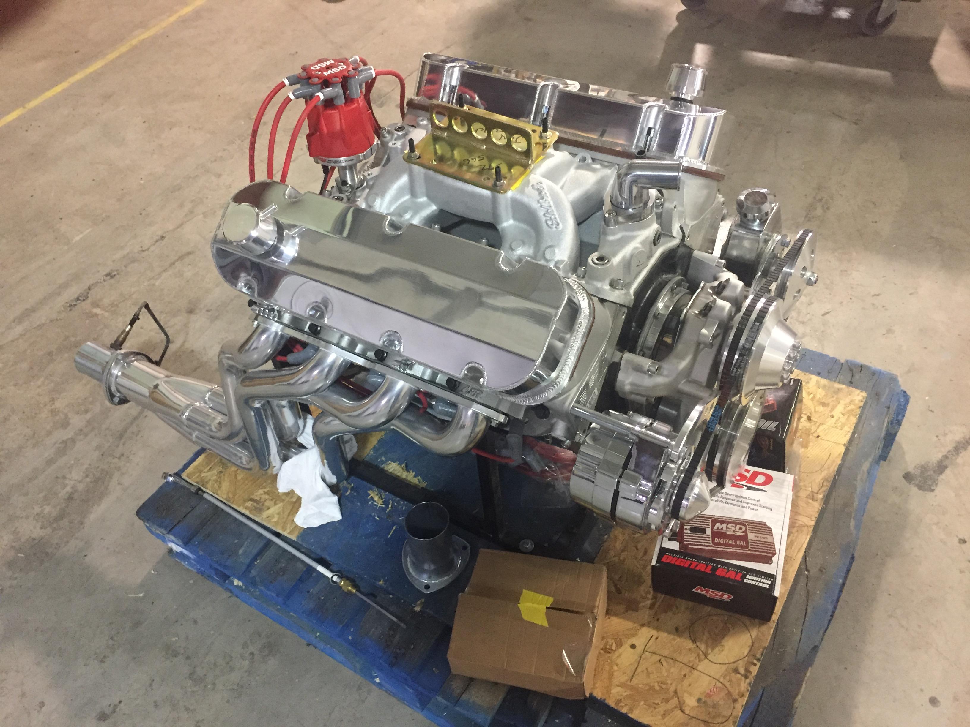 527 Cubic Inch Big Block Crate Motor