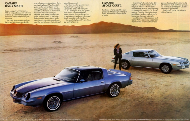 1980 Camaro OEM Brochure