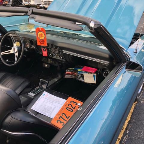 1969 Chevelle SS396 Convertible