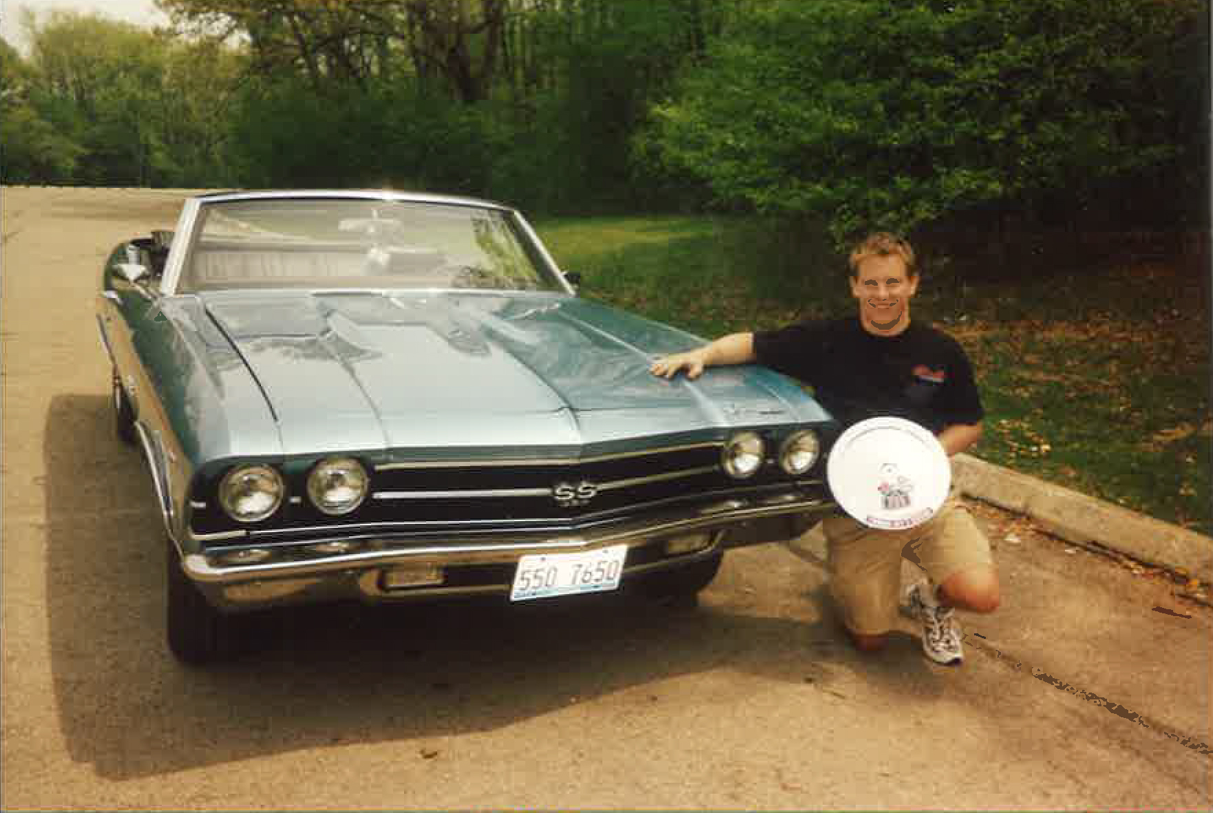 Brian Puchalski's & his 1969 Chevelle SS396 Convertible