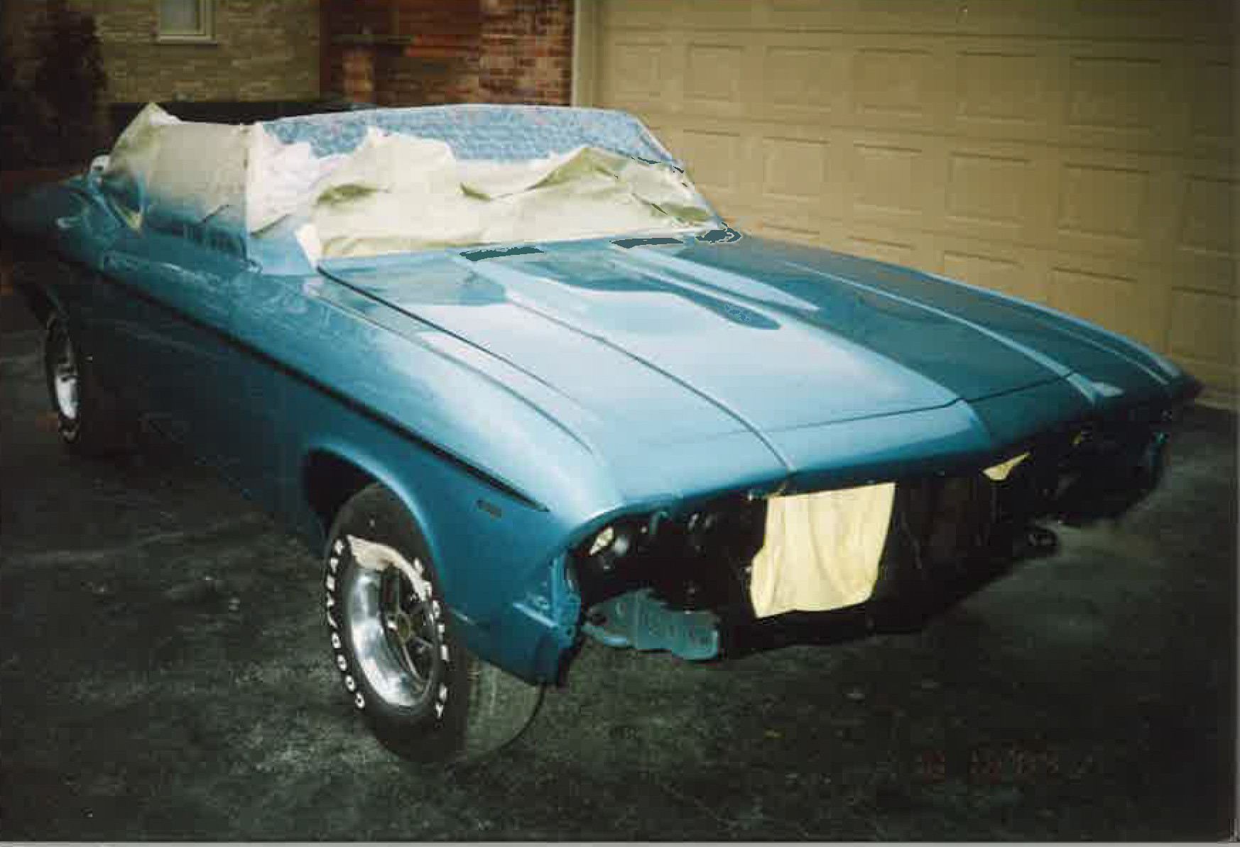 1969 Chevelle SS396 Convertible (during restoration)