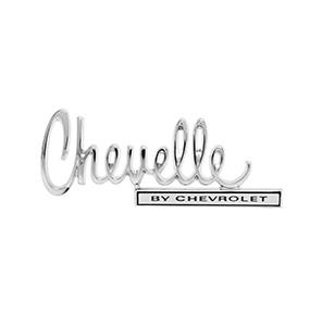 1970 Chevelle By Chevrolet Trunk Emblem