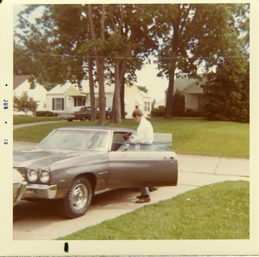 Vincent Berardi's & His 1970 Chevelle Malibu (Circa 1970)