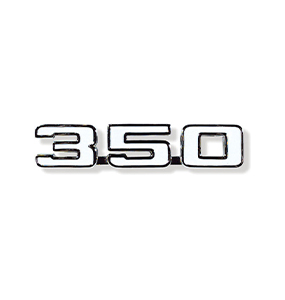 350 fender emblem