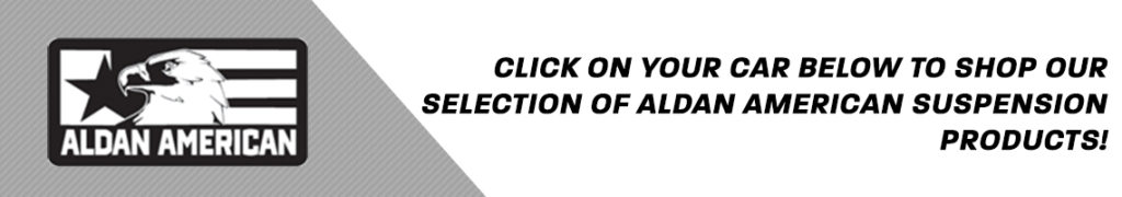 Click on your car below to shop our selection of Aldan American parts!