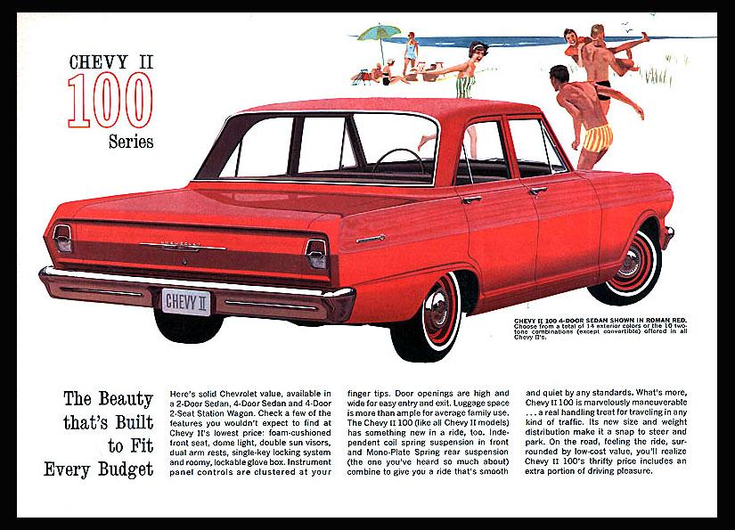 1962 Chevy II OEM Brochure