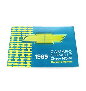 1969 Camaro Factory Owners Manual