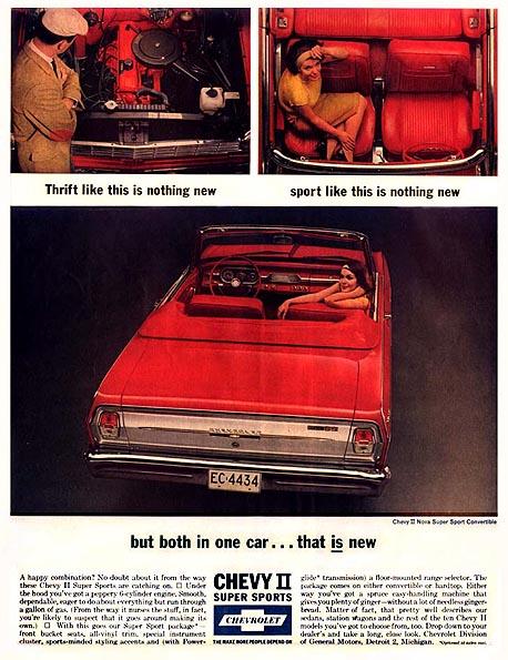 1962 Chevy II Advertisement