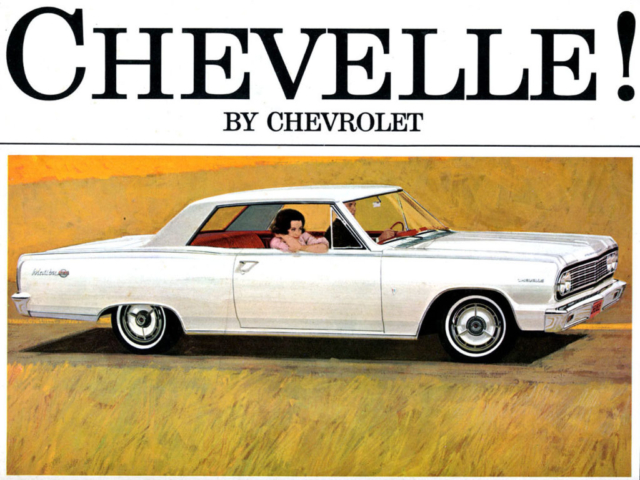 1964 Chevelle OEM Brochure - Page 1