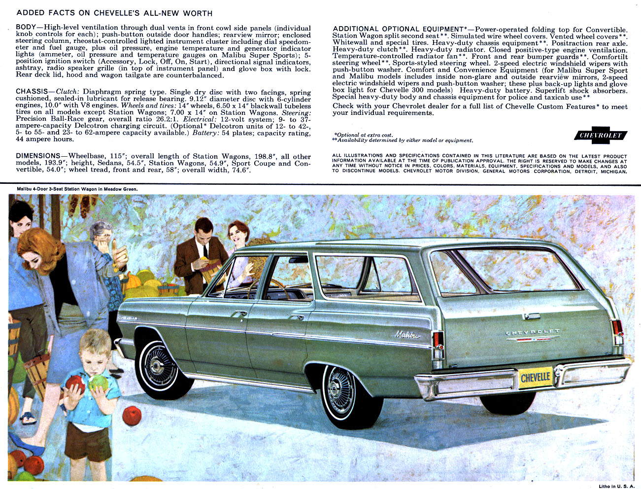 1964 Chevelle OEM Brochure - Page 10