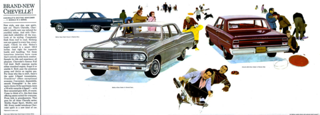 1964 Chevelle OEM Brochure - Page 2