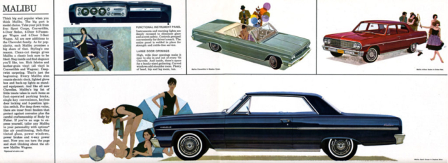 1964 Chevelle OEM Brochure - Page 4