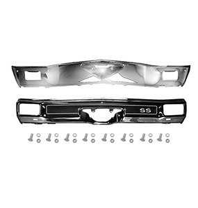 1970 Chevelle Bumper Kit With SS Pad Complete