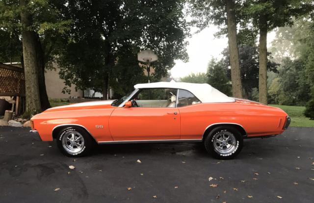 1972 Chevelle Convertible