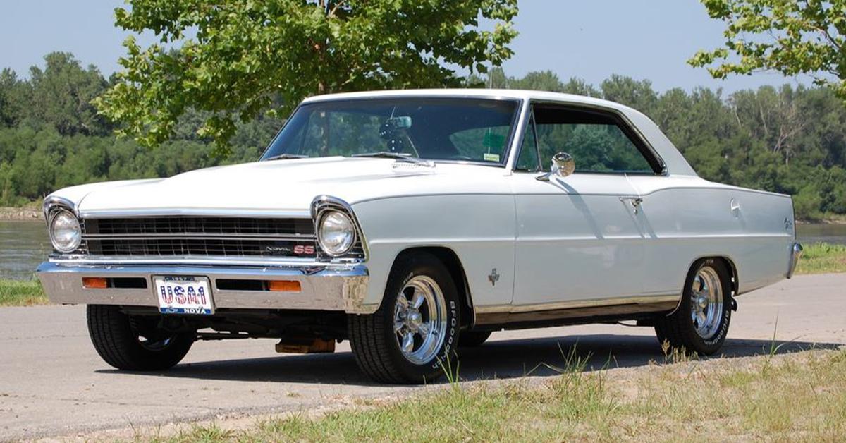 The Parsons 1967 Chevy Nova SS