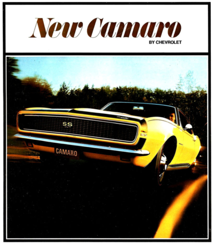 New Camaro By Chevrolet (1967)
