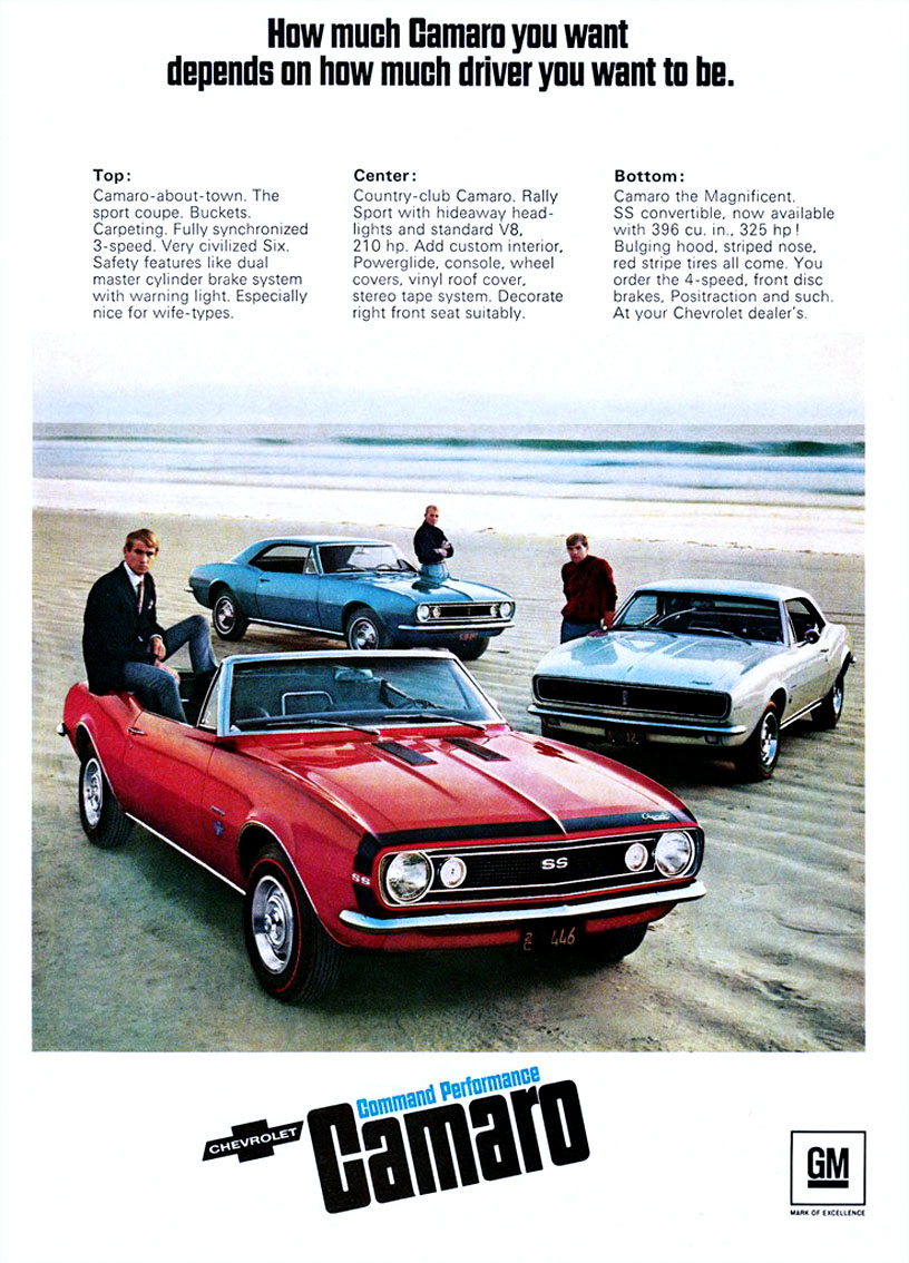 Command Performance with Camaro (1967)