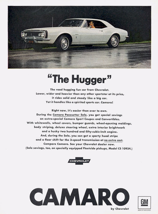 "1967 Camaro ""The Hugger"""