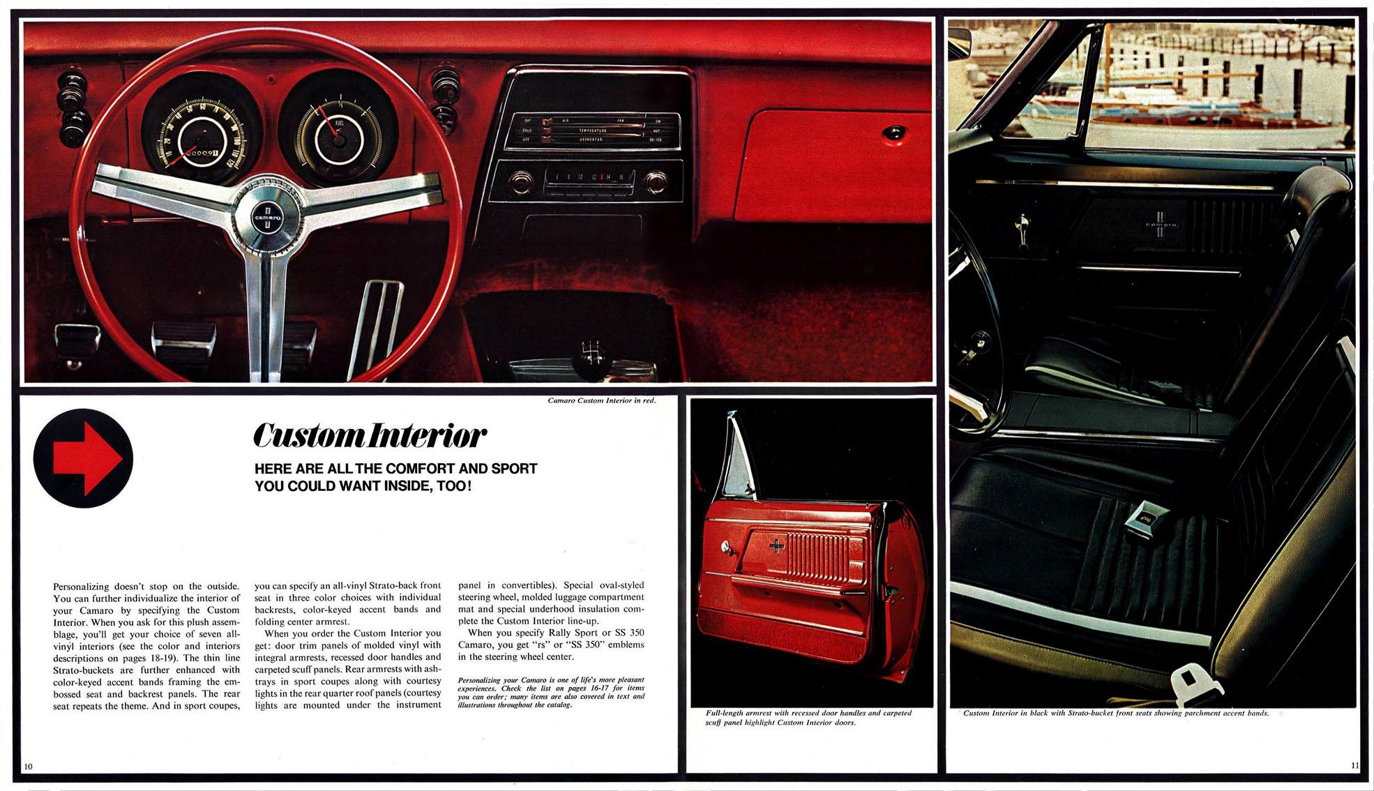 1967 Camaro Custom Interior